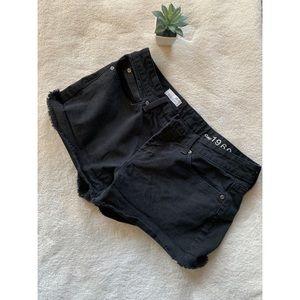 Gap cut off shorts